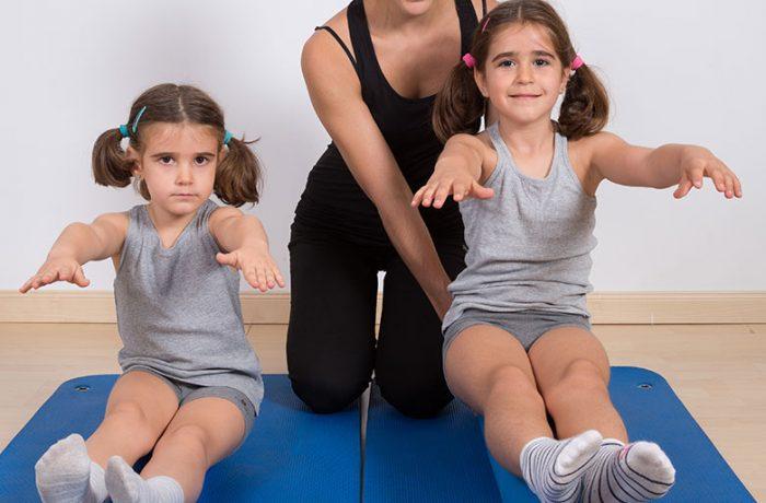 Pilates para niños
